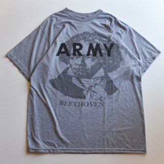 【USED】US ARMY BEETHOVEN ベートーベン プリント TEE (D)