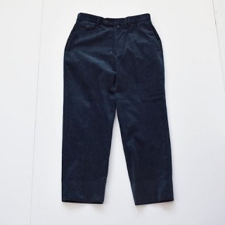 ENDS and MEANS Grandpa Cord Trousers [NAVY]
