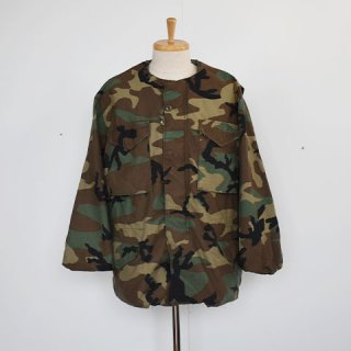 US ARMY M65 Field Jacket REMAKE [Sunny Side Up] Size:4 Woodland Camo