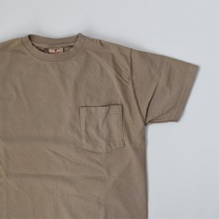 【GOODWEAR】 Short Sleeve Pocket TEE -GRAYISH BEIGE-