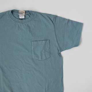 【GOODWEAR】 Short Sleeve Pocket TEE -SMOKEY AQUA-