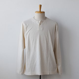 <img class='new_mark_img1' src='https://img.shop-pro.jp/img/new/icons22.gif' style='border:none;display:inline;margin:0px;padding:0px;width:auto;' />【SALE20%OFF】Jackman Henley Long Sleeve T-Shirts  [Kinari]