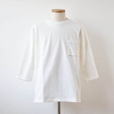【Jackman】DOTSUME  Half Sleeve T Shirts  -Off White-