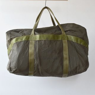 【VINTAGE】80's FRENCH MILITARY PILOT KIT BAG (A)