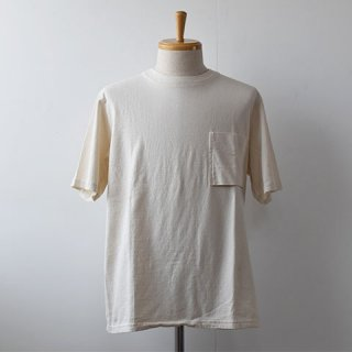 【Jackman】 Pocket Short Sleeve TEE  -Kinari-