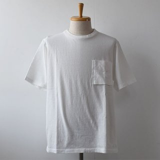 【Jackman】 Pocket Short Sleeve TEE  -White-
