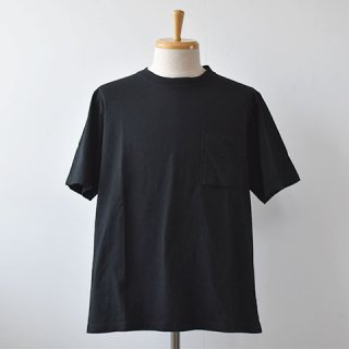 【SALE30%OFF】Jackman Pocket Short Sleeve TEE  [Black]