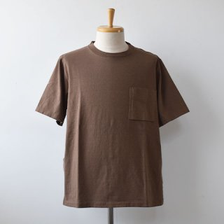 <img class='new_mark_img1' src='https://img.shop-pro.jp/img/new/icons22.gif' style='border:none;display:inline;margin:0px;padding:0px;width:auto;' />【SALE30%OFF】Jackman Pocket Short Sleeve TEE  [Umber Brown]