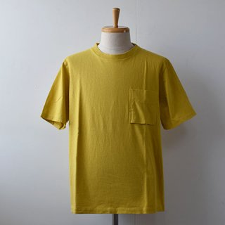 【SALE30%OFF】Jackman Pocket Short Sleeve TEE  [Sulphur Yellow]