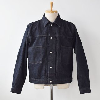 <img class='new_mark_img1' src='https://img.shop-pro.jp/img/new/icons14.gif' style='border:none;display:inline;margin:0px;padding:0px;width:auto;' />【ENDS and MEANS】Denim Jacket  -Indigo-