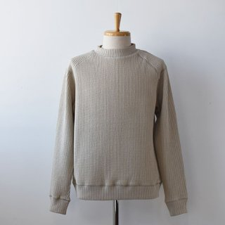 【Jackman】 Waffle Midneck   -Dirty Base-