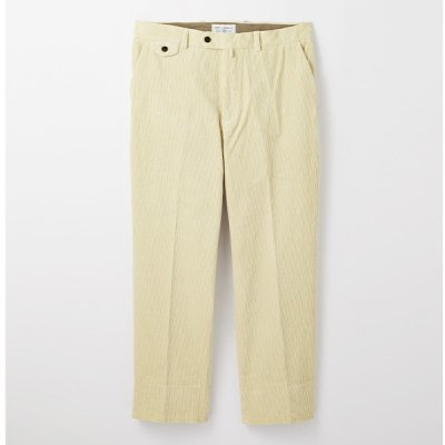 <img class='new_mark_img1' src='https://img.shop-pro.jp/img/new/icons14.gif' style='border:none;display:inline;margin:0px;padding:0px;width:auto;' />【ENDS and MEANS】Grandpa Cord Trousers 20AW  -IVORY-