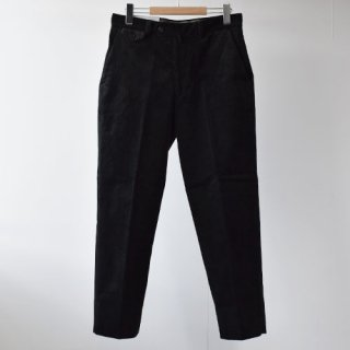 【ENDS and MEANS】Grandpa Cord Trousers 20AW  -BLACK-