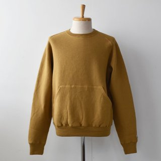 <img class='new_mark_img1' src='https://img.shop-pro.jp/img/new/icons14.gif' style='border:none;display:inline;margin:0px;padding:0px;width:auto;' />【ENDS and MEANS】 CREW NECK SWEAT 20AW -Yellowish Brown-