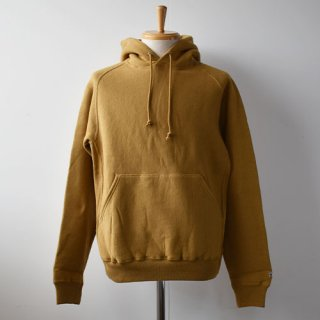【ENDS and MEANS】 HOODIE SWEAT 20AW -Yellowish Brown-