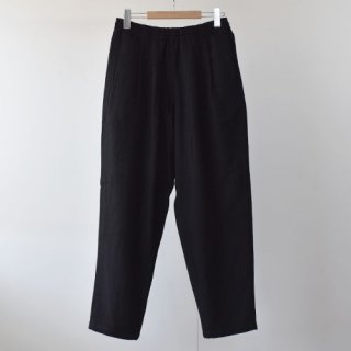 <img class='new_mark_img1' src='https://img.shop-pro.jp/img/new/icons14.gif' style='border:none;display:inline;margin:0px;padding:0px;width:auto;' />【BURLAP OUTFITTER】  WOOL TRACK PANTS -BLACK-