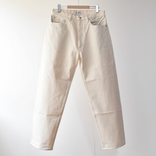【ENDS and MEANS】   5 Pocket DENIM   -Natural-