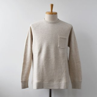 <img class='new_mark_img1' src='https://img.shop-pro.jp/img/new/icons14.gif' style='border:none;display:inline;margin:0px;padding:0px;width:auto;' />【FLISTFIA】Crew Neck Sweat  -Oatmeal-