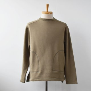 <img class='new_mark_img1' src='https://img.shop-pro.jp/img/new/icons14.gif' style='border:none;display:inline;margin:0px;padding:0px;width:auto;' />【Burlap Outfitter】GRID FLEECE CREW TOP  -Moss-