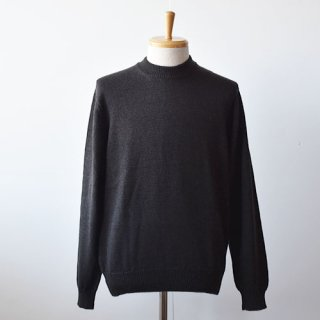 <img class='new_mark_img1' src='https://img.shop-pro.jp/img/new/icons14.gif' style='border:none;display:inline;margin:0px;padding:0px;width:auto;' />【ENDS and MEANS】Merino Wool Crew Neck Knit -Brown Black-