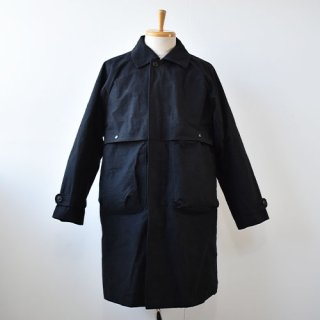 <img class='new_mark_img1' src='https://img.shop-pro.jp/img/new/icons14.gif' style='border:none;display:inline;margin:0px;padding:0px;width:auto;' />【ENDS and MEANS】 Journalist Coat 2020AW -Black-
