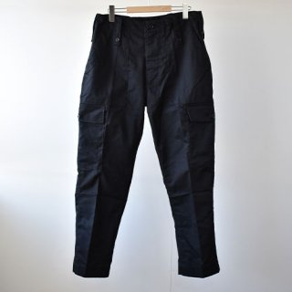<img class='new_mark_img1' src='https://img.shop-pro.jp/img/new/icons14.gif' style='border:none;display:inline;margin:0px;padding:0px;width:auto;' />【DEAD STOCK】BRITISH ARMY CARGO TROUSERS-BLACK-