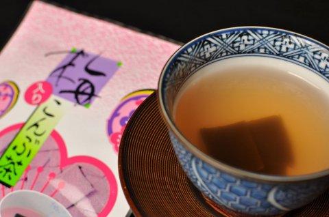 梅入りこんぶ茶