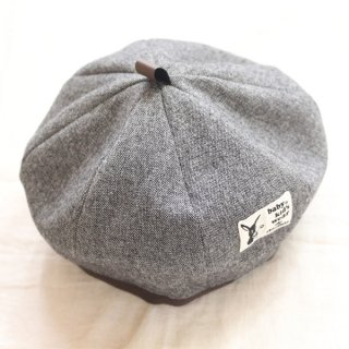 <img class='new_mark_img1' src='https://img.shop-pro.jp/img/new/icons14.gif' style='border:none;display:inline;margin:0px;padding:0px;width:auto;' />DONKEY BERET(DN-19505)B.GRY