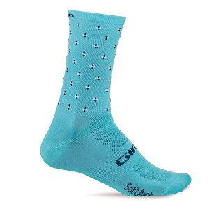 【GIRO/ジロ】COMP RACER HIGH RISE SOCKS Glacier Crossfade
