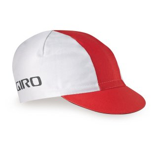 【GIRO/ジロ】CLASSIC COTTON CAP White / Red