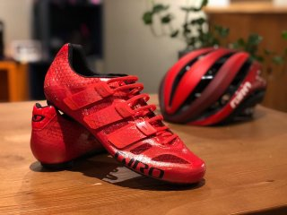 【GIRO/ジロ】PROLIGHT TECHLACE  Bright Red