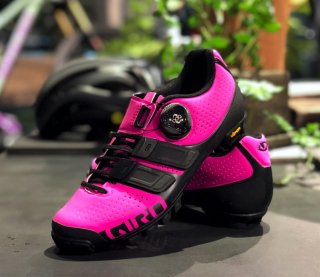 【GIRO/ジロ】SICA TECHLACE Bright Pink / Black for Women