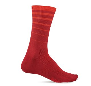 【GIRO/ジロ】COMP RACER HIGH RISE SOCKS Red 6 String