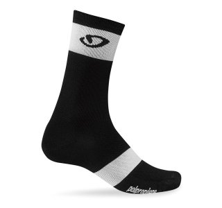 【GIRO/ジロ】COMP RACER HIGH RISE SOCKS Black / White