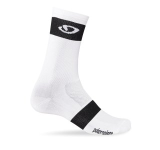 【GIRO/ジロ】COMP RACER HIGH RISE SOCKS White / Black