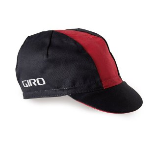 【GIRO/ジロ】CLASSIC COTTON CAP Black / Red