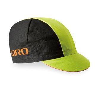 【GIRO/ジロ】CLASSIC COTTON CAP Black / Bright Lime