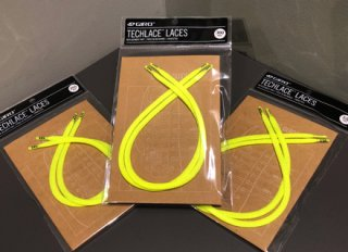 【GIRO/ジロ】TECHLACE LACES Highlight Yellow