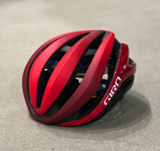 【GIRO/ジロ】AETHER MIPS AF(アジアンフィット) Matte Red / Dark Red Fade
