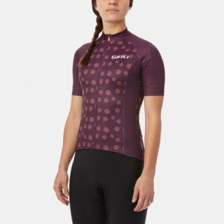 <img class='new_mark_img1' src='https://img.shop-pro.jp/img/new/icons14.gif' style='border:none;display:inline;margin:0px;padding:0px;width:auto;' />【GIRO/ジロ】WOMENS CHRONO SPORT JERSEY Dusty Purple Palm Burst
