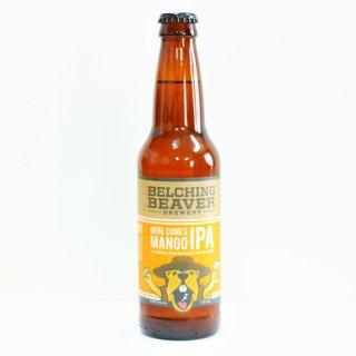ベルチングビーバー ヒアカムズマンゴーIPA(Belching Beaver Here Comes Mango IPA)