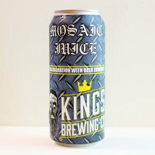キングス モザイクジュース(KINGS Brewing MOSAIC JUICE)