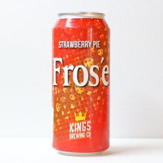 キングス フローセ ストロベリーパイ(KINGS Brewing Fros'e Strawberry Pie)
