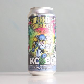 KCBC スーパーヒーローサイドキックスIPA(Kings County Brewers Collective SUPERHERO SIDEKICKS IPA)