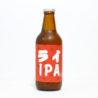 里武士 アングロジャパニーズブルーイング ライIPA(LIBUSHI Anglo Japanese Brewing Rye IPA)