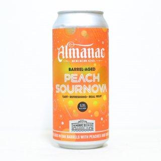 アルマナック バレルエイジド ピーチサワーノヴァ(Almanac  Barrel-Aged Peach Sournova)
