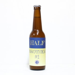 2nd ストーリーエールワークス ハーフブラザーナンバー1(2nd Story Ale Works HALF BROTHER #1 HAZY PALE ALE)
