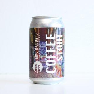 トゥーラビッツ コーヒースタウト(TWO RABBITS Brewing COFFEE STOUT)