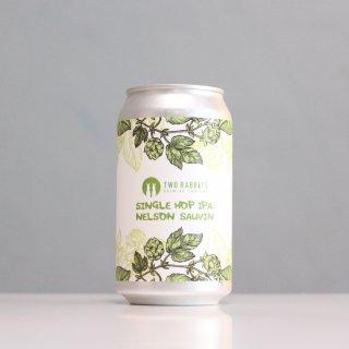 トゥーラビッツ シングルホップIPA ネルソンソーヴィン(TWO RABBITS Brewing Single Hop IPA: Nelson Sauvin)