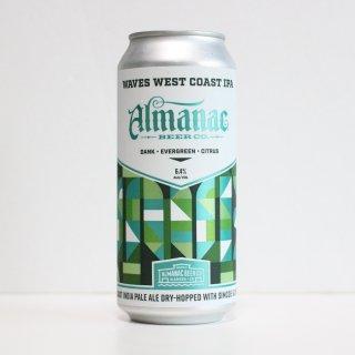 アルマナック ウェイブス ウェストコーストIPA(Almanac  WAVES West Coast IPA)
